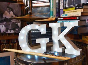gene krupa drum kit