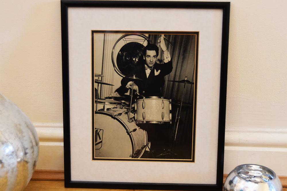 gene krupa drumming picture