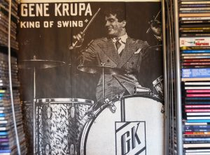 gene krupa king of swing poster