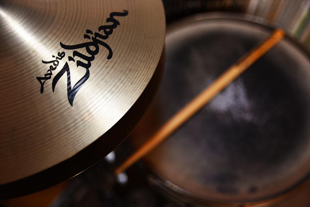 gene krupa drum kit picture