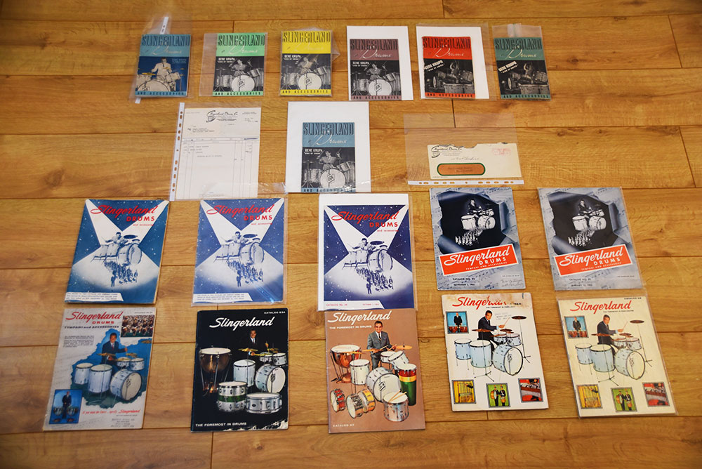 various Gene Krupa catalogues