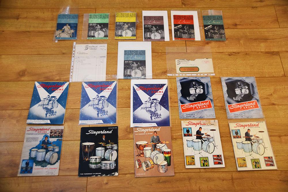 various Gene Krupa catalogues